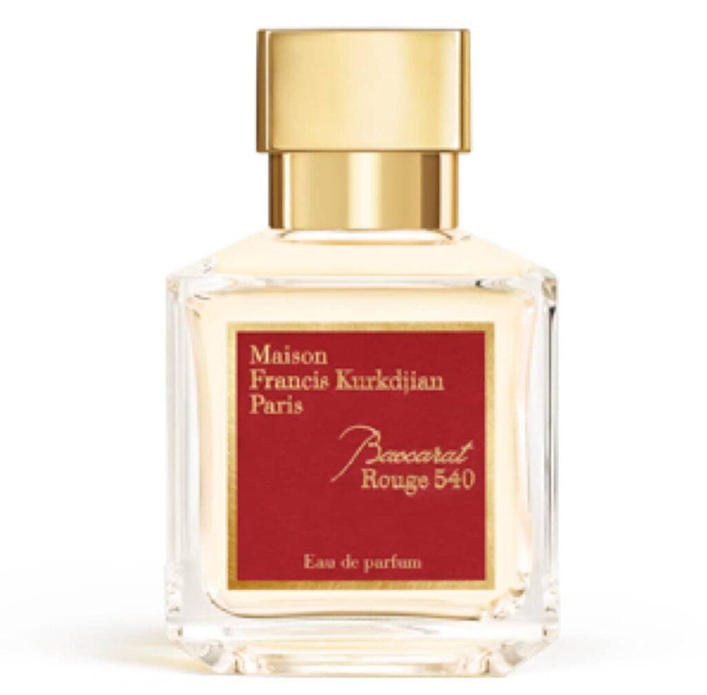Maison Francis Kurkdjian Baccarat Rouge 540 Parfum Test